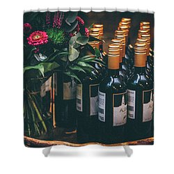 Party Shower Curtain by Happy Home Artistry