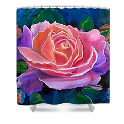 Gala Rose Shower Curtain