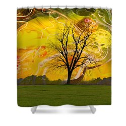 Party Skies Shower Curtain by Jan Amiss Photography