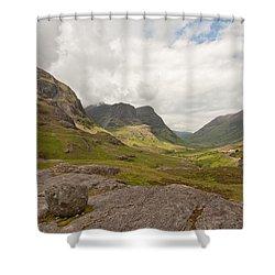 Pass Of Glencoe Shower Curtain