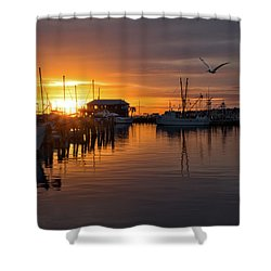 Pass Sunset Shower Curtain