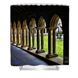 Shower Curtain featuring the photograph Passage To The Ancient by Roberta Byram