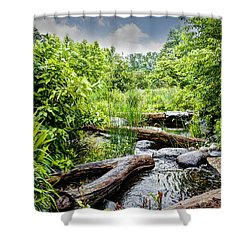 Passage Way Shower Curtain by Deborah Klubertanz