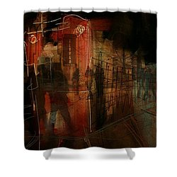 Passers In The Night Shower Curtain by Jim Vance