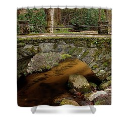 Shower Curtain featuring the photograph Passing Over Many Years by Mike Eingle