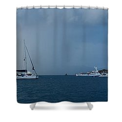 Passing Storm Shower Curtain by Adam Romanowicz