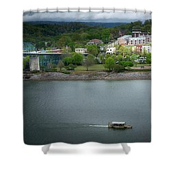 Passing Storm In Chattanooga Shower Curtain