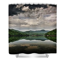 Passing Storm Over Lake Hiwassee Shower Curtain