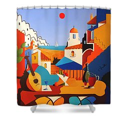 Passion For Life Shower Curtain by Joe Gilronan