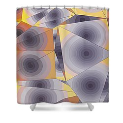 Passionflowers Shower Curtain