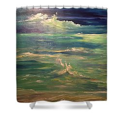 Passion Shower Curtain by Heather Roddy