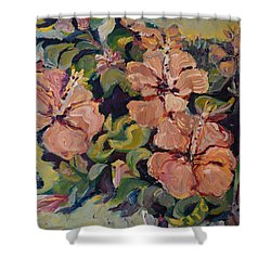 Passion In Dubrovnik Shower Curtain by Julie Todd-Cundiff