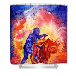 Passion On The Dance Floor Shower Curtain