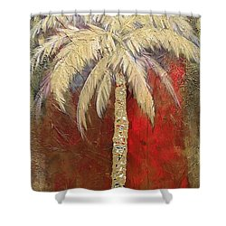 Passion Palm Shower Curtain