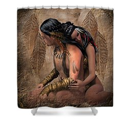 Passion Spirits Shower Curtain