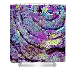 Passionate Swirl Shower Curtain