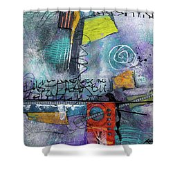 Passionate Time  Shower Curtain by Laura Lein-Svencner