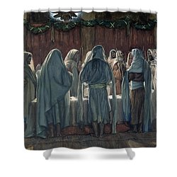 Passover Shower Curtain by Tissot