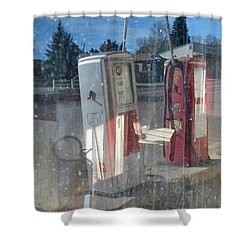 Past Gas Shower Curtain