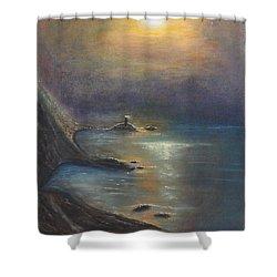 Pastel Msc 002 Shower Curtain