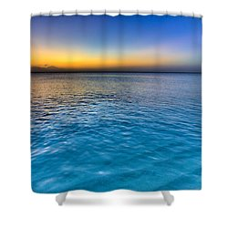 Pastel Ocean Shower Curtain