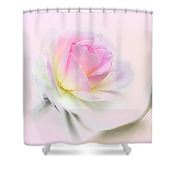 Pastel Passion Shower Curtain by Kaye Menner