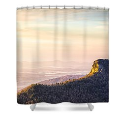 Table Rock Mountain - Linville Gorge North Carolina Shower Curtain