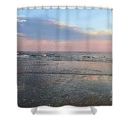 Pastel Sunset Shower Curtain