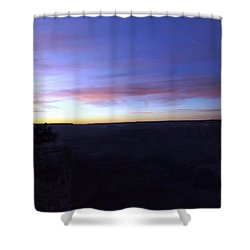 Pastels At Dark Shower Curtain by Adam Cornelison