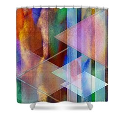 Pastoral Midnight Shower Curtain by John Beck