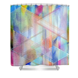 Pastoral Moment Shower Curtain by John Beck