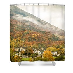 Pastoral Village Shower Curtain