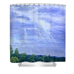 Pasture Lane Shower Curtain