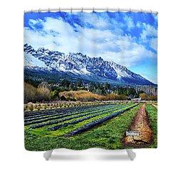 Dreamlike Argentine Patagonia Shower Curtain