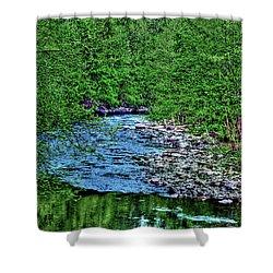 Patapsco River Shower Curtain