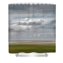 Patch Of Blue Shower Curtain