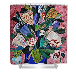 Patchwork Bouquet Shower Curtain