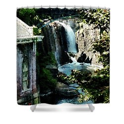 Paterson Falls Shower Curtain by Susan Savad
