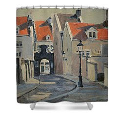 Paterspoortje Maastricht Shower Curtain