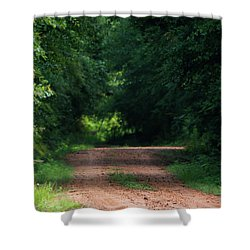 Shower Curtain featuring the photograph Path Of Light Horizontal by Shelby Young