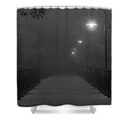 Path To Darkness Shower Curtain