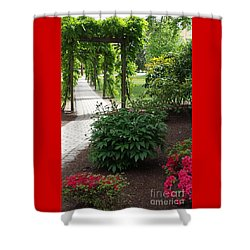 Path To Eternity Shower Curtain
