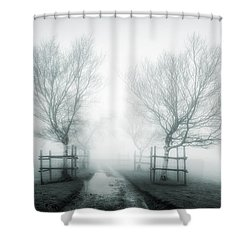 Path To Nowhere II Shower Curtain