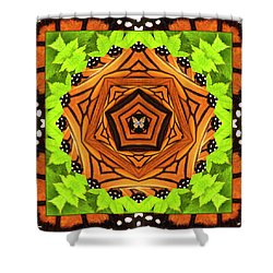 Pathfinder Shower Curtain by Bell And Todd