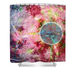Pathogen Shower Curtain