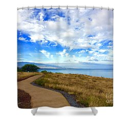 Pathway To Heaven Shower Curtain