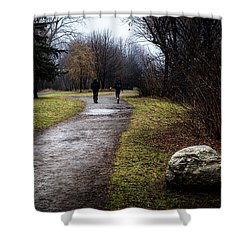 Pathway To Nowhere Shower Curtain
