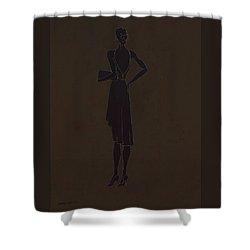 Patience  Shower Curtain by Antonio Ortiz