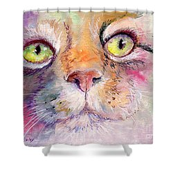 Patience Shower Curtain by Sherry Shipley