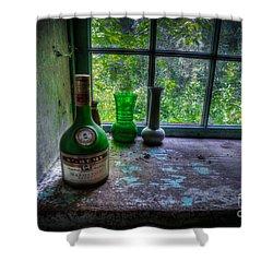 Patina In Green Shower Curtain